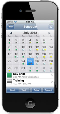 Employee Shift Scheduling Software For Ios Devices